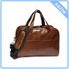 Custom Men PU Leather Travel Bag