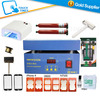 Screen Repair Machine Separating LCD For HTC Iphone Samsung with Mobile Opening Tools Set LOCA UV Glue
