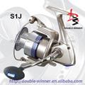 Grande variedade instantâneo anti reverse S1J series fiação pesca carretel