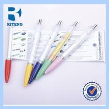 advertising cheap ballpoint plastic pull out banner pen