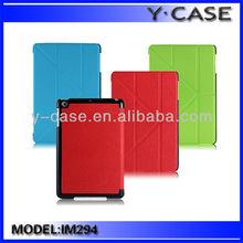 Novel design Ultra thin case with iPad mini 2/Leather case for iPad mini 2/stand case for iPad mini retina