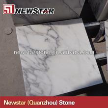 Newstar polished carrara white marble tile price