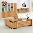 Modern Cherry Wood Veneer Executive Office Table/Desk