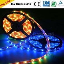 Optional imput voltage ac220v/110v/DC double sided led strip light