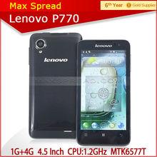Hot sales lenovo p770 4.5inch dual sim dual core lenovo mobile phone android 4.1