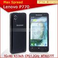 hot vente p770 dual sim téléphone portable lenovo meilleur son