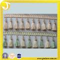 borlas de cortina para la decoración de adornos de cortina borla pesado de tela de encaje