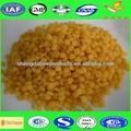 Gros de haute qualité de la cire d'abeille jaune granule