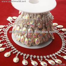 Beautiful rhinestone cup chain rhinestone trimming (MYM-0135)