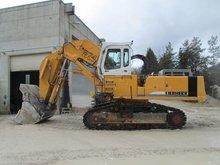 Liebherr R974 face shovel excavator #10680