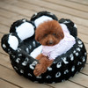 Newly Launched 2014 Lovely Bear Paw Round Pet Bed for Puppy Dogs and Cats