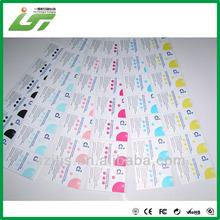 simple anti radiation mobile phone sticker manufacturer