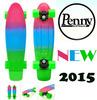 Stereo sound agency nickel globe bantam plastic vinyl curiser penny skateboard