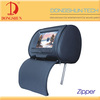 7inch headrest pillow monitor DVD Auto