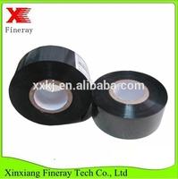 FINERAY FC3 type 25mm*122m black hot coding foil/date code heat stamp jumbo roll for batch code pri