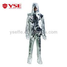 aluminized fire entry suit