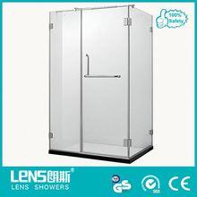 High performance free sliding door standing shower enclosure
