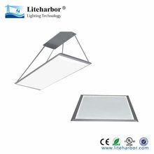 Ultra-slim aluminum frame 600*1200 daylight 74W surfaced/recessed/pendant mounted led flat panel lamp