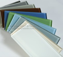 Custom Size And Custom Color Sea Glass Tiles For Walls