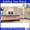 Customized mdf shop service counter furniture
