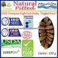 """Dattes dénoyautées organiques naturelles. 100% dattes tunisiennes"""" deglet nour"""" catégorie, des dattes fraîches de fruits, sweet dates 250 g"""