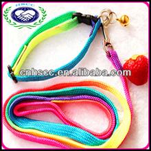 Fashion Colorful Nylon Pet Collars China Brand Dog Leashes