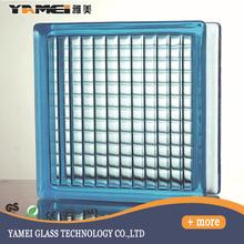 China Manufacturer decorative round glass block colored glass block