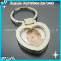 2013 New Metal Photo Frame Key chain, digital photo key chain GFT-KC033