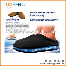 Comfort gel slipper/gel insole slippers