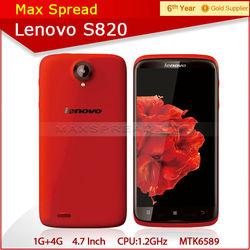 lenovo mobile phone quad core mtk6589 4.7'' lenovo s820 lenovo big display
