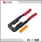 IDC type flat cable crimping punch tools