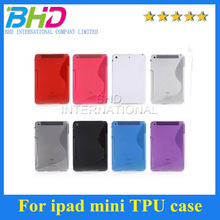 High quality For iPad mini TPU Case cheap and colorful