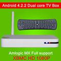 Fábrica de fornecer diretamente dual core android 4.2 online streaming media android tv caixa