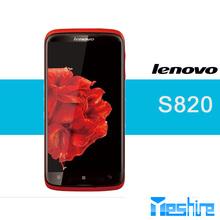 2013 Hot sale China Lenovo S820 Mobile Phone MTK6589 Quad core 1.2GHz 1GB RAM 4GB ROM 4.7Inch HD Screen Dual sim13MP Smartphone