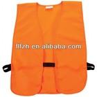 orange hunting vest
