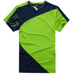 Crew Neck Table Tennis Jersey Loose Neck T-Shirt