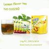 Chinese lemon flavor wholesale box packed natural black fruit flavored tea