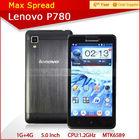 MTK6589 quad core dual sim lenovo p780 3g wifi handphone