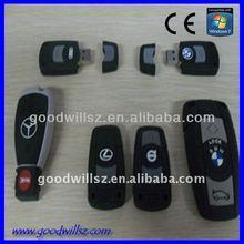 High Speed ferrari usb key shape,car key shape 2.0/3.0 usb flash drive,ferrari