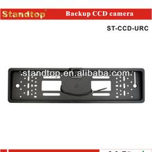 1/3 sharp ccd european license plate rear view camera