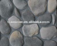 Artificial river cobble stones factory