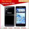 Hot 5.0'' Android 4.2 8mp lenovo p780 quad core mobile phones