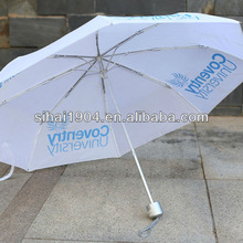21'*8k fashion three folding windproof rain discounted umbrella