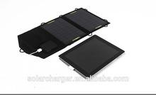 7 Watt 5v USB outlet moncrystalline mobile solar panel phone charger