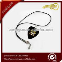 Adjustable Guitar Pick Holder and Guitar Pick jewellers necklace