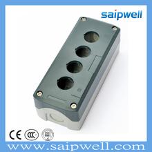 168*68*54 SAIPWELL 4 Ways IP65 Plastic Electronic Pushbutton Box