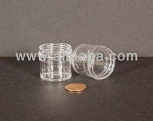 Regular Wall Styrene Jar: 33mm - 1/4 oz (2783 pcs per case)