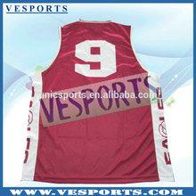 Cheap Promotional Yellow Basketball Jersey Free Design