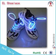 2015 Fashional LED Flashing Shoelaces / led lighting shoelace wholesale / light up led shoelace