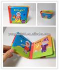educational baby bath book